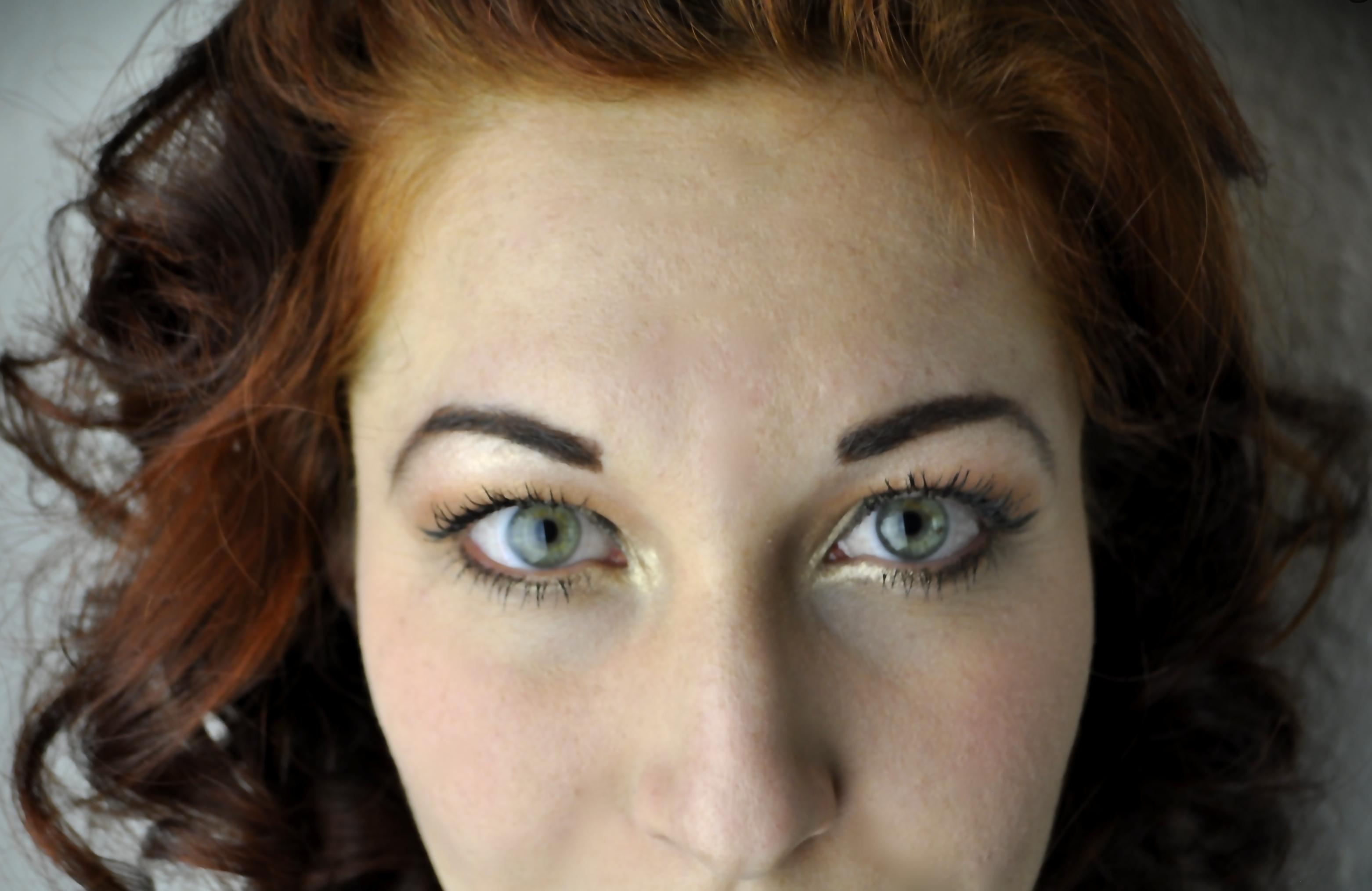 Glamouröses Vintage Make-up