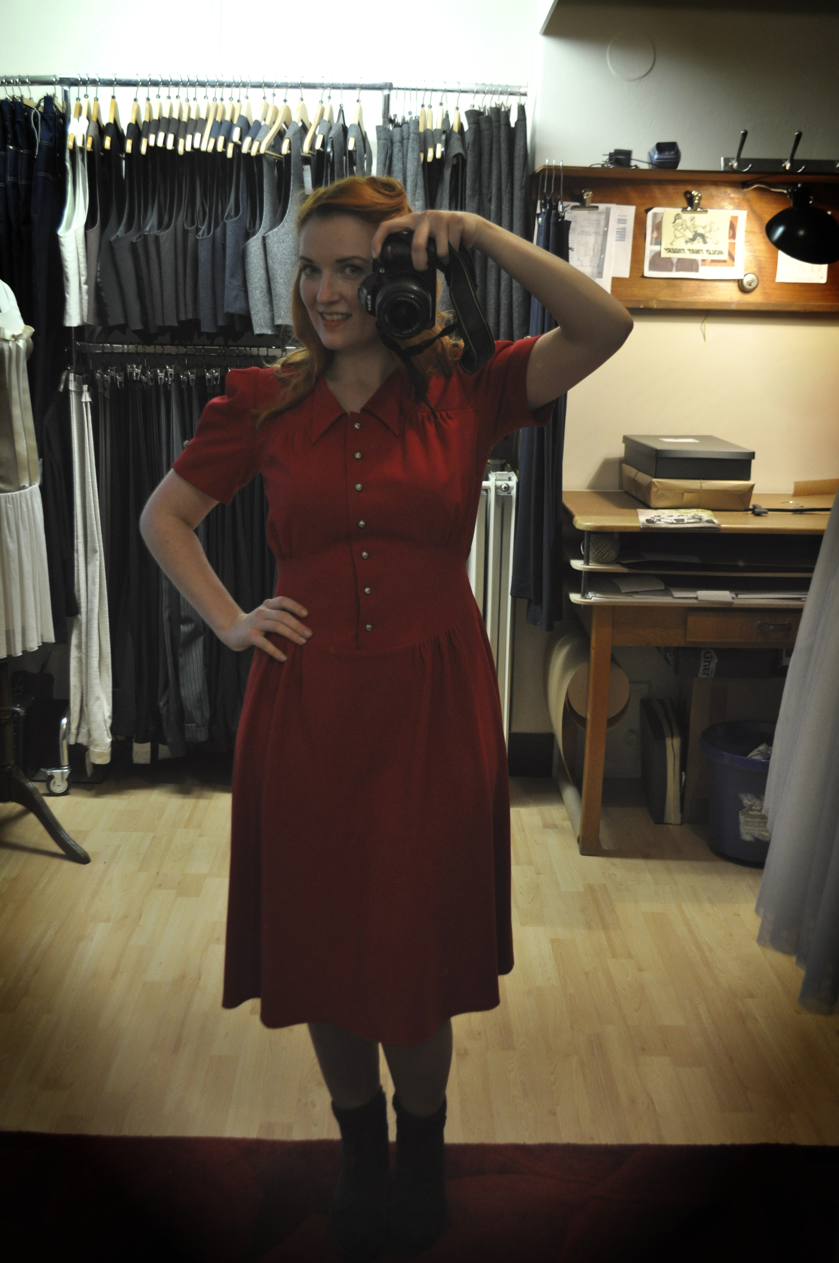 Swing Kleid Evita Vecona Vintage