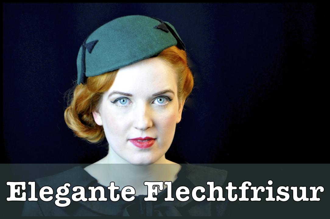 Elegante Flechtfrisur Anleitung