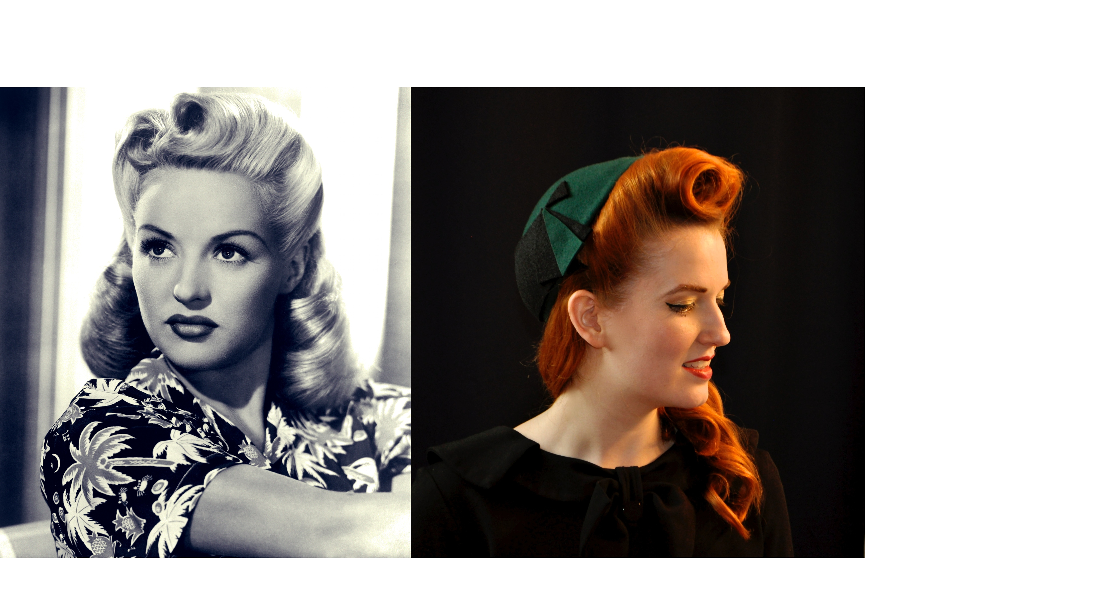 Tutorial-Victory Rolls PinUp