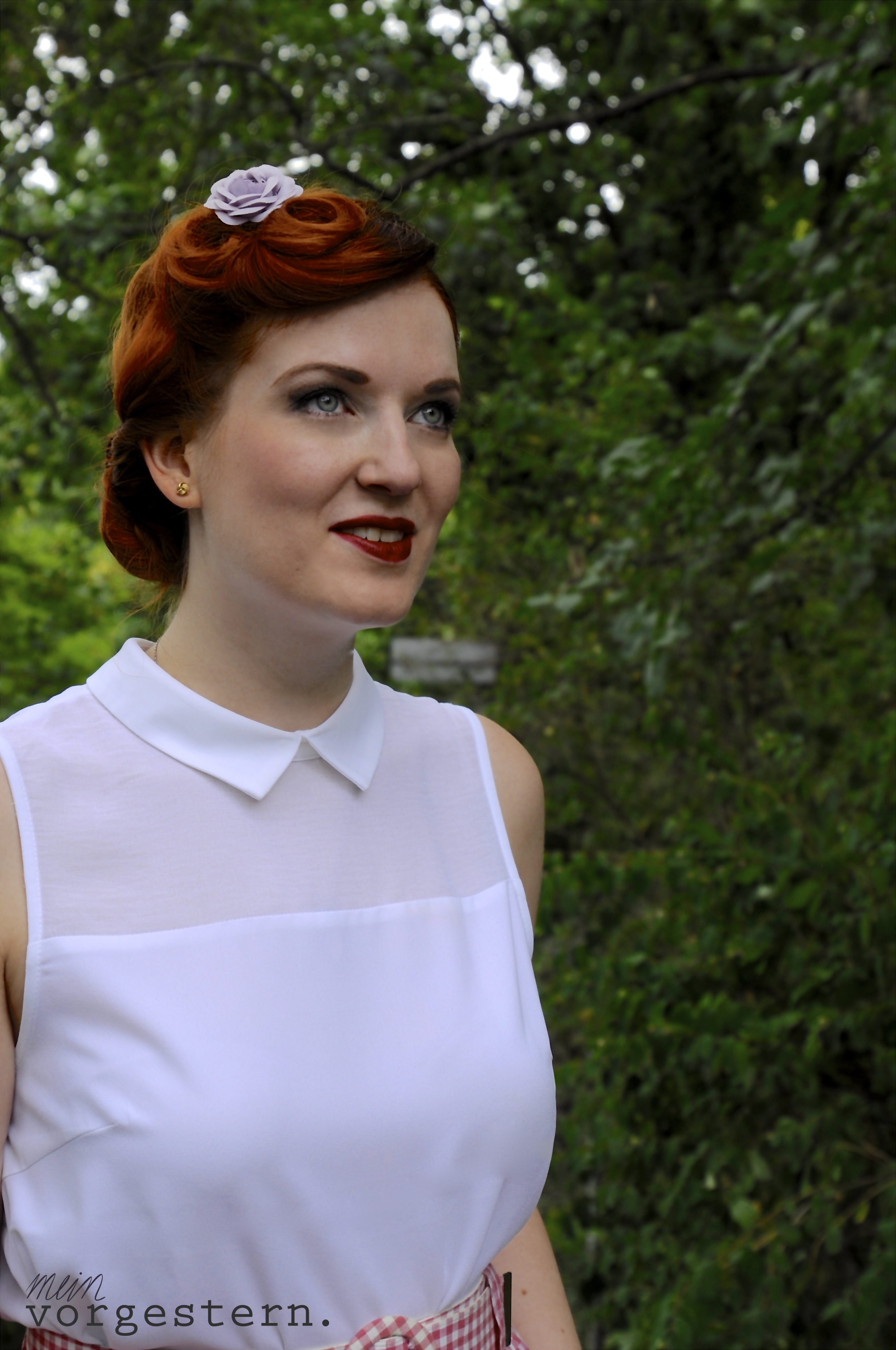 Sommer Vintage Outfit