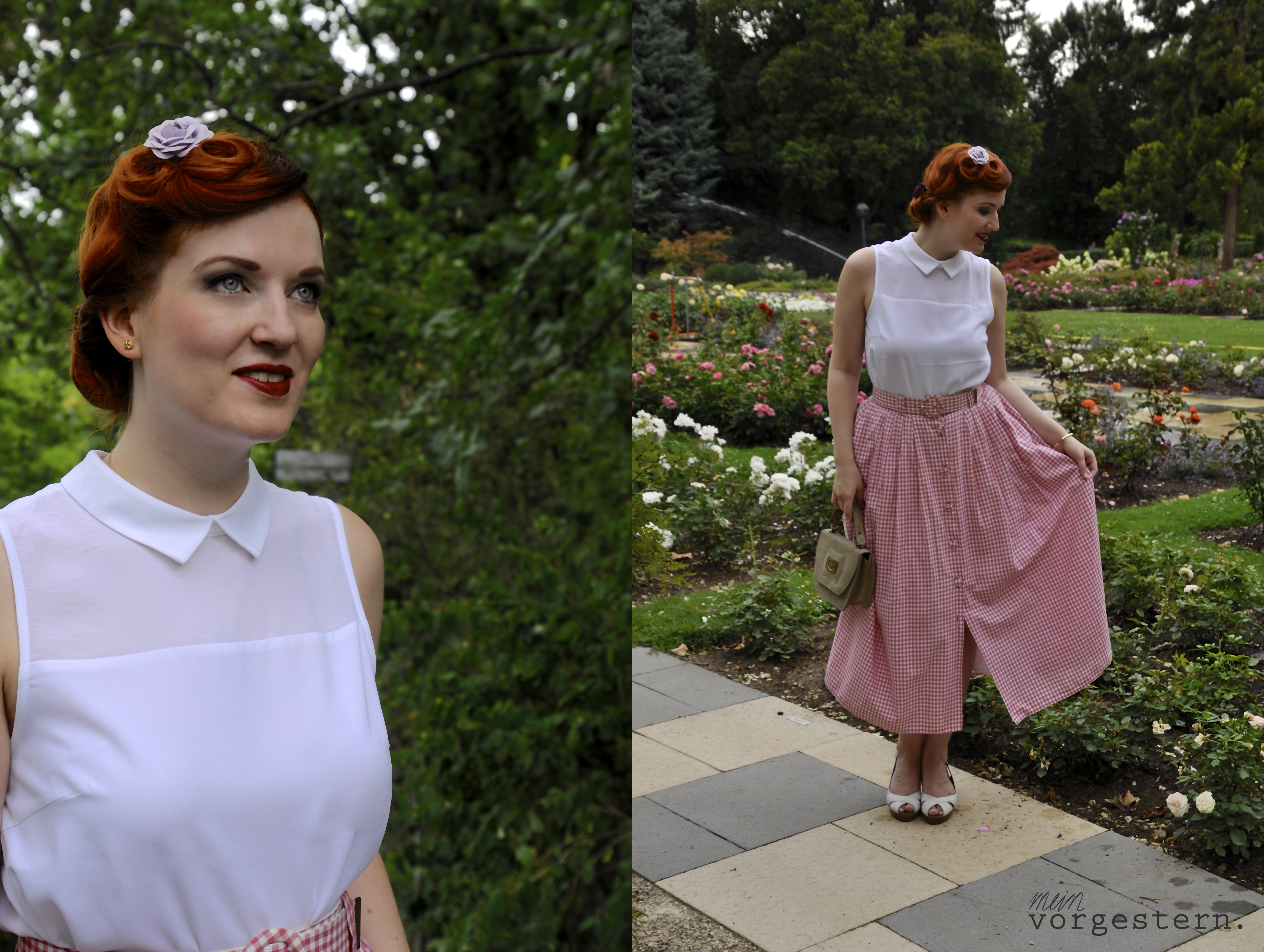Vintage Sommeroutfit