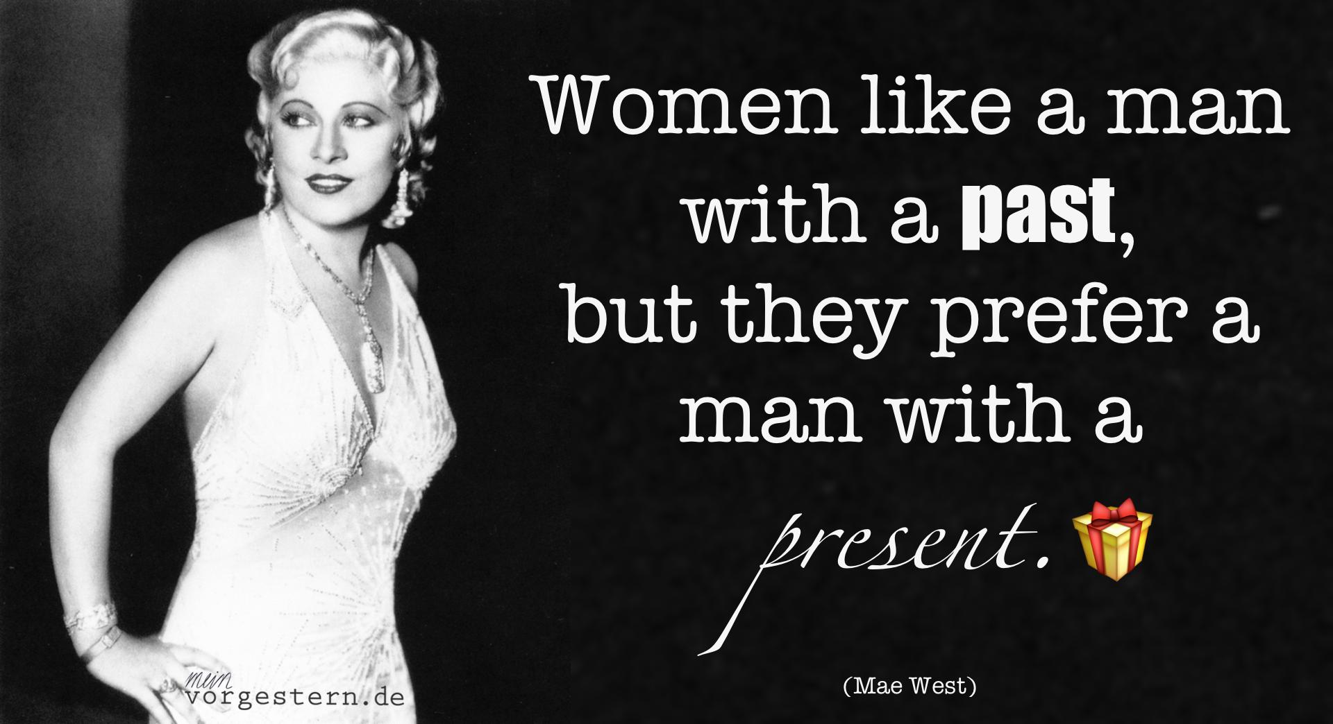 Mae West Zitat