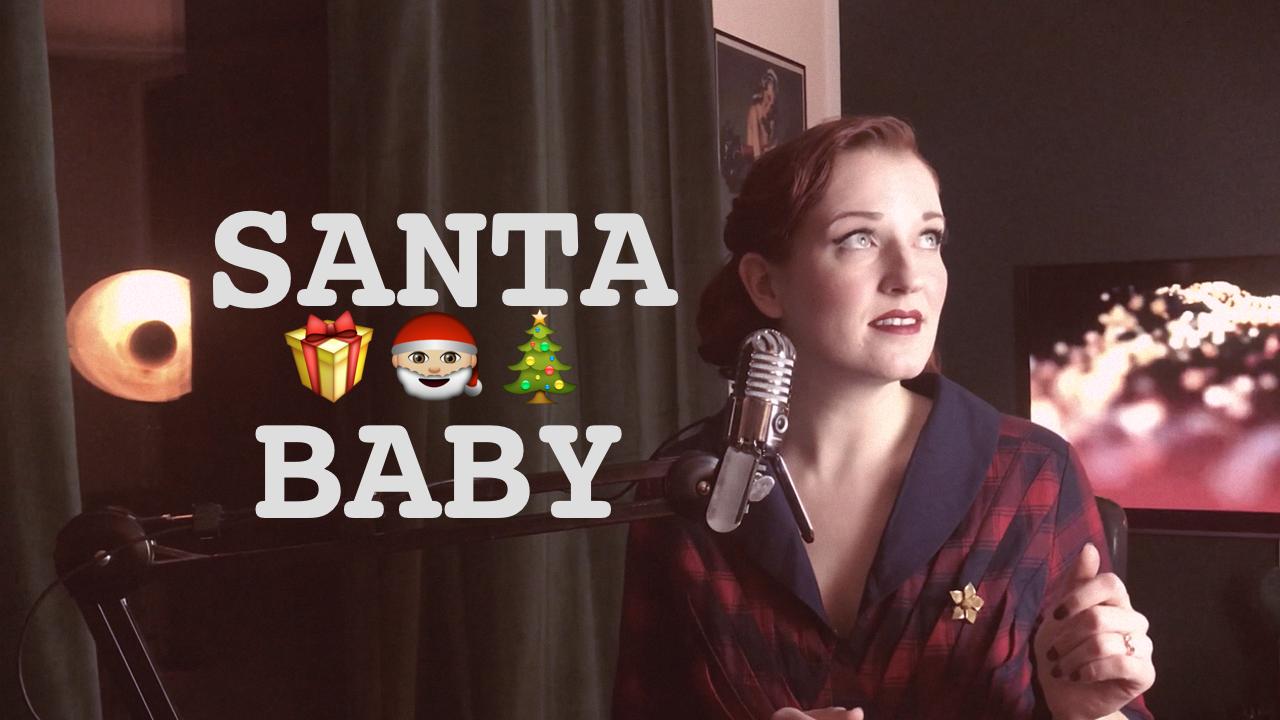 Santa Baby Vintage Cover